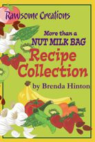 Rawsome Creations More than a NUT MILK BAG is perfect for for juicing, sprouting & making nut milks.