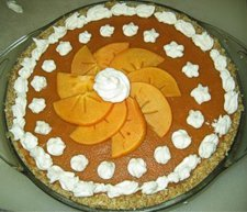 Raw Foods Chef Brenda Hinton makes a beautiful Persimmon Pie -- and with her recipe, so can you!