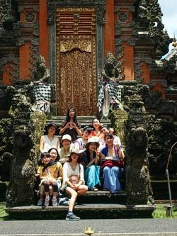 Lotus Garden Temple - Ubud, Bali. Photo by Brenda Hinton, Bali, February 2014