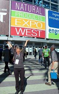 Rawsome Chef Brenda Hinton at Expo West 2014