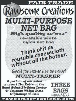 Rawsome Creations Multi-Purpose Bags: 3 for $6!