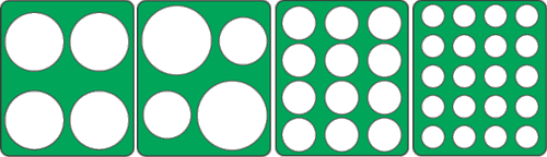 CLICK FOR SEDONA ROUNDS TEMPLATE INFO: Living foods chefs find the Rawsome Rounds Templates for Sedona especially useful: food grade acrylic sheets that fit directly over an Sedona Dehydrator tray to help create perfect rounds in various sizes quickly and easily. Perfect rounds every time !