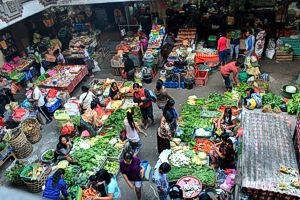 Ubud Central Market, Bali Pimgrimage 2015 (photo by Deanna Leah)